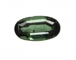 0.48cts Natural Green Tourmaline Oval Cut