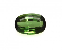 0.59cts Natural Green Tourmaline Oval Cut