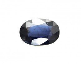 0.78cts Natural Australian Blue Sapphire Oval Shape