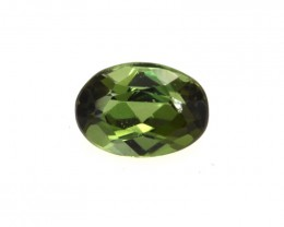 0.47cts Natural Green Tourmaline Oval Cut