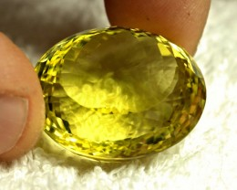 68.10 Carat Vibrant Yellow African VVS Lemon Quartz - Gorgeous