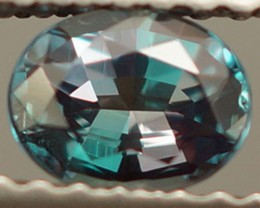 AIGS CERTIFIED 0.52CT RARE! NATURAL COLOR CHANGE ALEXANDRITE! EXCELLENT CUT