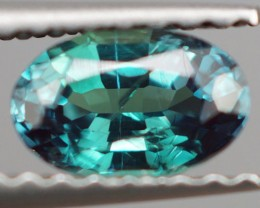 0.60 ct 6X4 MM ONE OF A KIND DARK BLUISH GREEN ALEXANDRITE TOP COLOR CHANGE