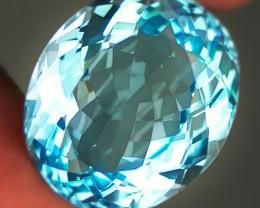 14.94ct Jewellery Grade Sky Blue Topaz Oval cut VVS No Reserve