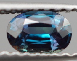 0.35 CT STRONG COLOR CHANGE! NATURAL DARK BLUISH GREEN ALEXANDRITE