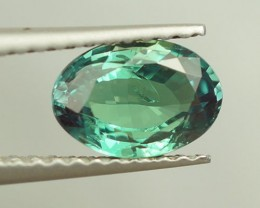 1.00 CT OVAL SHAPE BRILLIANT STEP CUT NATURAL CHRYSOBERYL ALEXANDRITE