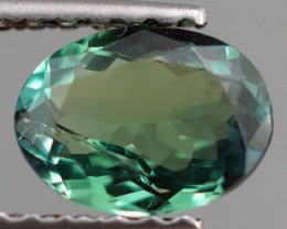 0.71 ct NATURAL BLUISH GREEN ALEXANDRITE TOP QUALITY COLOR CHANGE