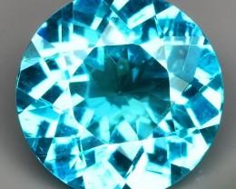7.00mm Paraiba Blue Apatite - totally gorgeous gem for setting