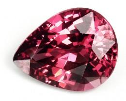 2.09ct Cherry Crimson Rhodolite Garnet Jewellery Grade VVS Perfect for sett