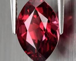 3.60ct Cherry Pink Rhodolite Garnet Marquise cut VVS