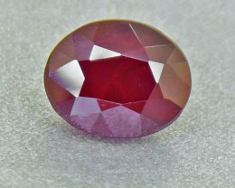 Unheated RUBY 1.03 Ct. {Deep RED} (00550)