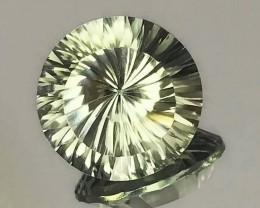 5.45ct Rare Cut Prasiolite  (Prasiolite) - Extreme luster top gem
