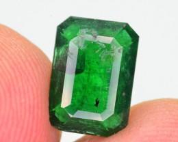 1.40 Ct Brilliant Color Vivid Green Emerald ~ Swat