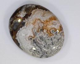 53ct 36x29mm Natural Crazy Lace Agate