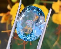 10.90Ct Elegant Blue Topaz