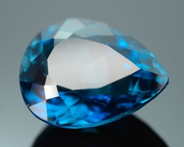 Top Color 14.11 ct London Blue Topaz SKU.1