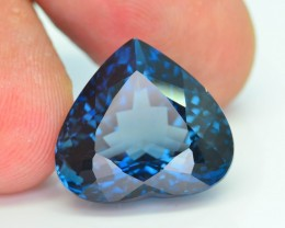 Top Color 18.81 ct Natural London Blue Topaz SKU.1