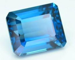 AAA Grade 11.41 ct London Blue Topaz SKU.1