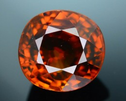 GiL Certified 4.70 ct Imperial Zircon Unheated Cambodia PRJ.2