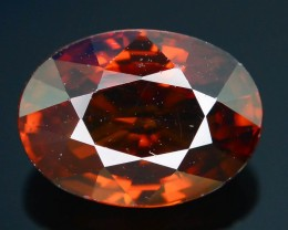 GiL Certified 4.42 ct Orange Zircon Cambodia PRJ.2