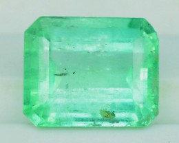 1.50 cts Super Top Quality  Emerald Cut Untreated Colombian Emerald Gemston
