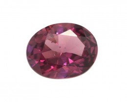 2.34cts Natural Rhodolite Garnet Oval Cut