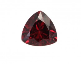 1.38cts Natural Rhodolite Garnet Trillion Cut