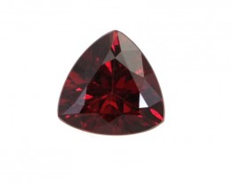 1.07cts Natural Rhodolite Garnet Trillion Cut