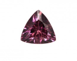 1.06cts Natural Rhodolite Garnet Trillion Cut