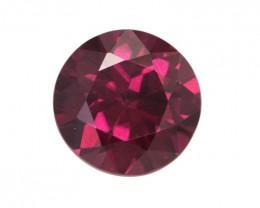 4.08cts Natural Rhodolite Garnet Round Cut