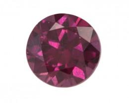 4.01cts Natural Rhodolite Garnet Round Cut