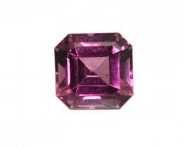 0.77cts Natural Rhodolite Garnet Emerald Cut