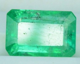 1.25 cts Super Top Quality Emerald Cut Natural 3.10 cts Colombian Emerald G