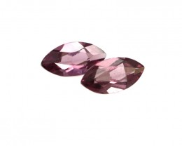 0.57cts Natural Rhodolite Garnet Matching Marquise Cut