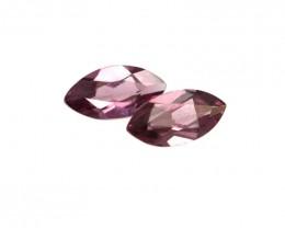 0.57cts Natural Rhodolite Garnet Matching Marquise Cut