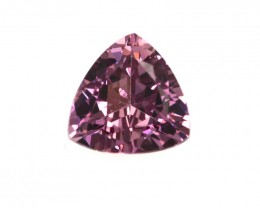 0.91cts Natural Rhodolite Garnet Trillion Cut