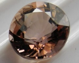 'AAA'  SUPERB MASTERCUT 2.05CT CHAMPAGNE PINK OVAL TOURMALINEAL