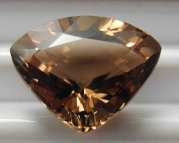 'AAA'  SUPERB MASTERCUT 2.76CT CHAMPAGNE  TRILLIANT TOURMALINEAL