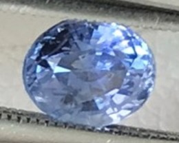 Vibrant Ceylon Blue, 1.05ct Oval Sapphire - Sri Lanka F90