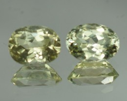 8X6 MM TOP QUALITY NATURAL SILLIMANITE PAIR - SLP66