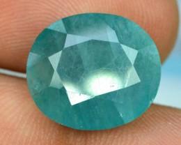 Certified 7.985 cts Oval Cut Rare Grandidierite gemstone from madagascar