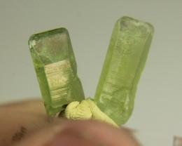 Natural 2 Peridot Crystal From Pakistan