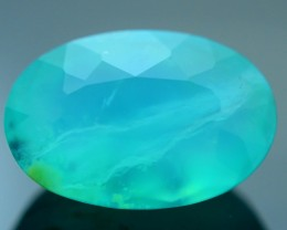 Peruvian Blue Opal 6.21 ct Untreated/Unheated SKU.3