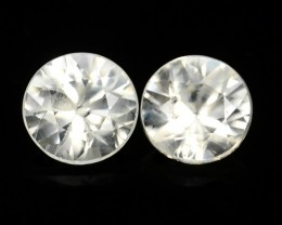 1.35 CTS AWESOME NICE ROUND NATURAL ZIRCON FACET GENUINE