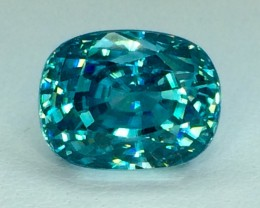 7.15 Crt Natural Zircon Sparkling Luster Top Cutting Faceted Gemstone Z01