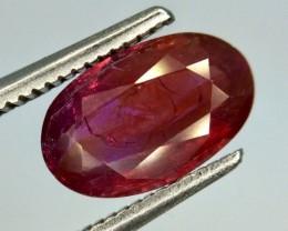 1.96 Gil Certified Ruby Unheated Gemstone
