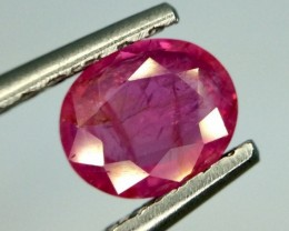 1.34 Gil Certified Ruby Unheated Gemstone