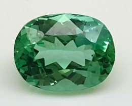 3.70Crt Green Spodumene Best Grade Gemstones JI 42