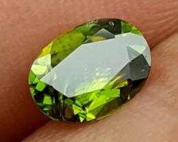 0.95Crt Chrome Sphene Multi color Best Grade Gemstones JI 42