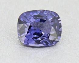 Untreated Cobalt Spinel 2.13 ct Certified Ceylon - (01149) - RARE
